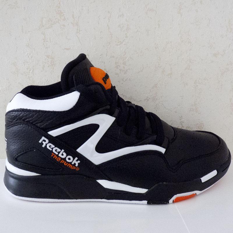b02667f863a49 ... reebok pump noir et or