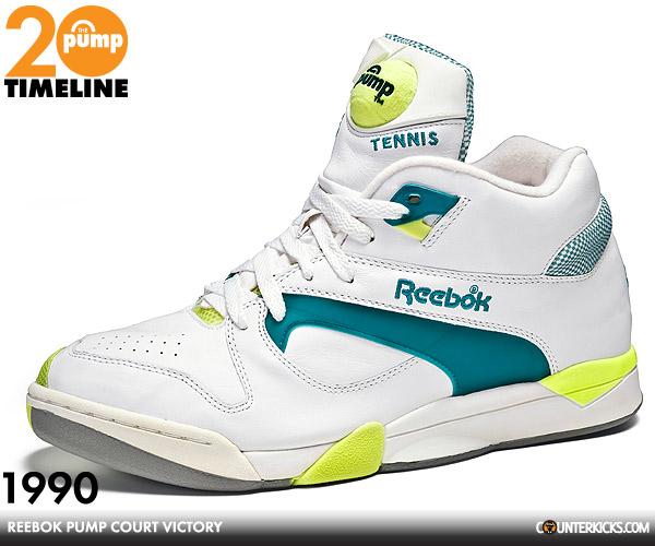 Reebok Pump Tennis Shoes Retro