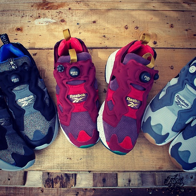Reebok Insta Pump Fury x Burn Rubber Detroit